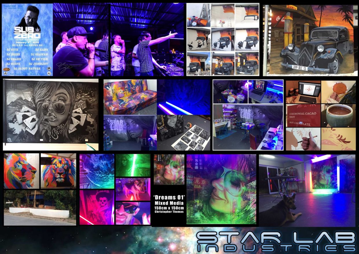 star lab blog - Looking back at 2020 - Murals 1